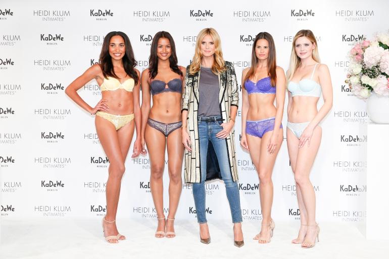 Heidi Klum At KaDeWe