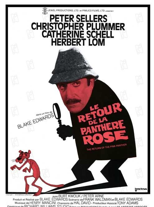 le retour de la panthere rose