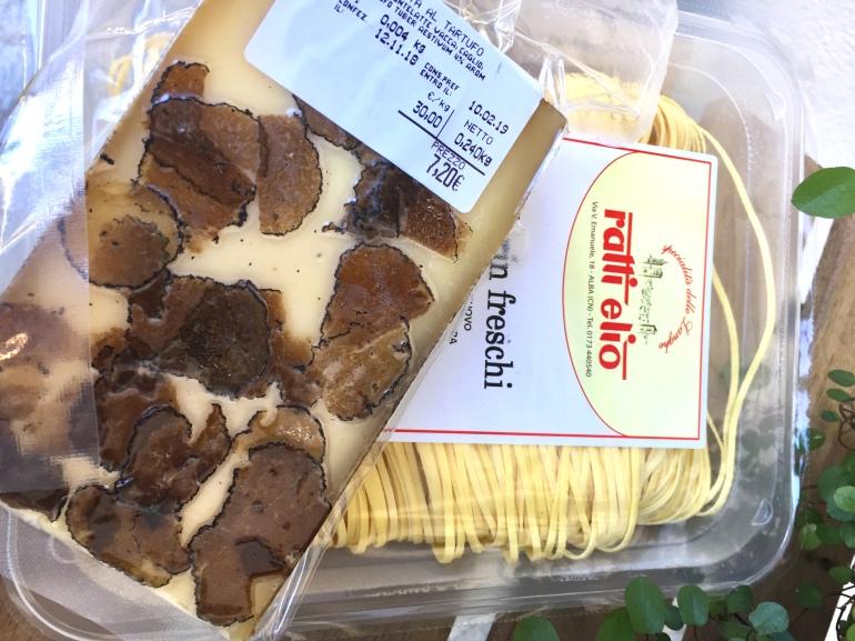 alba fromage et tajarin